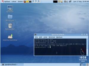 Tampilan Desktop IGN2010