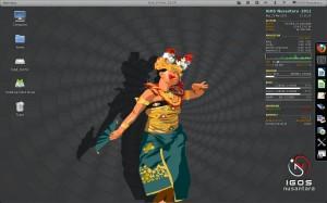 IGOS Nusantara 2011 Penari Bali